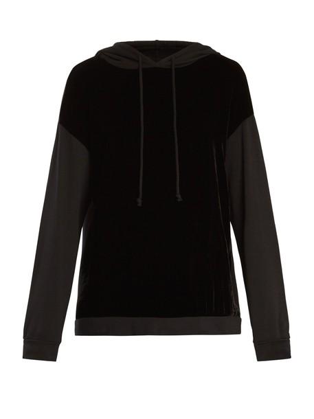 VELVET BY GRAHAM & SPENCER sweatshirt velvet black sweater