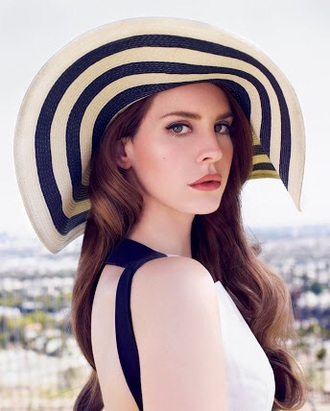 hat lana del rey pretty fashion sun hat