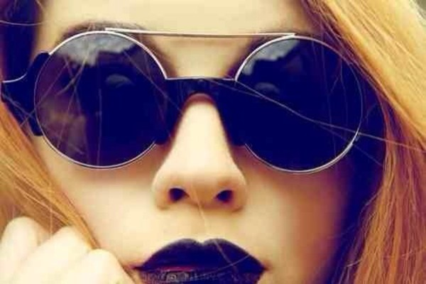 sunglasses black grunge