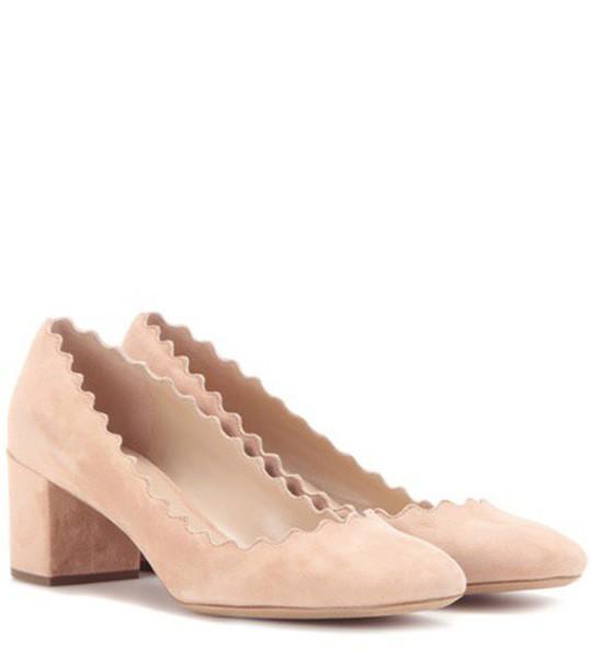 Chloe suede pumps pumps suede shoes