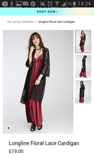 dress red cut-out long maxi goth grunge burgundy