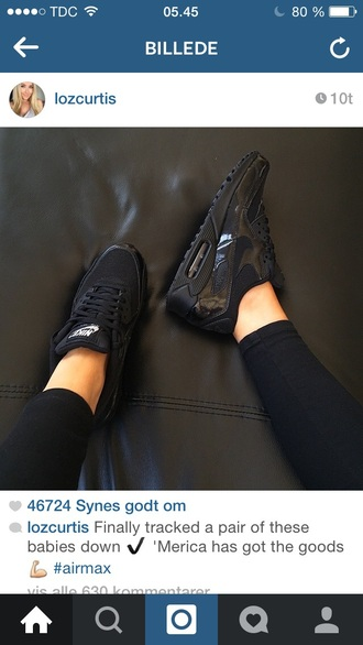 shoes nike shoes black black nikes