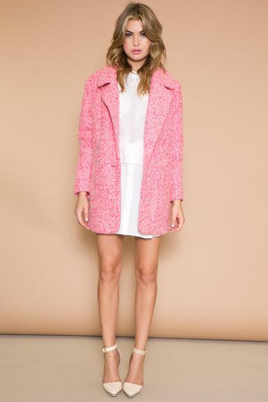 haute & rebellious blouse chic coat chanel pumps