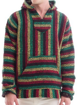 Buy a Mexican Baja Hoodie with Free Shipping. Drug Rug Hoodies