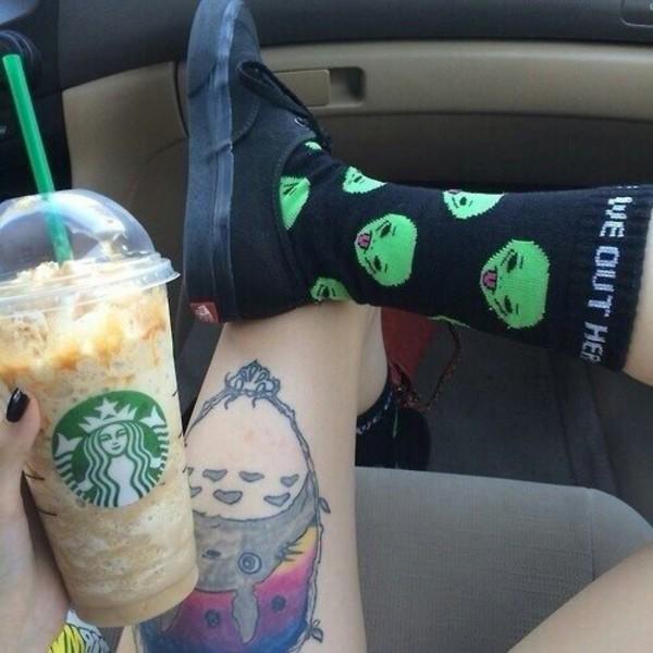 socks alien