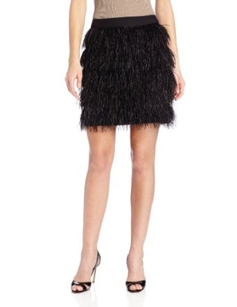 Amazon.com: Vince Camuto Women's Feather Tiered Mini Skirt: Clothing
