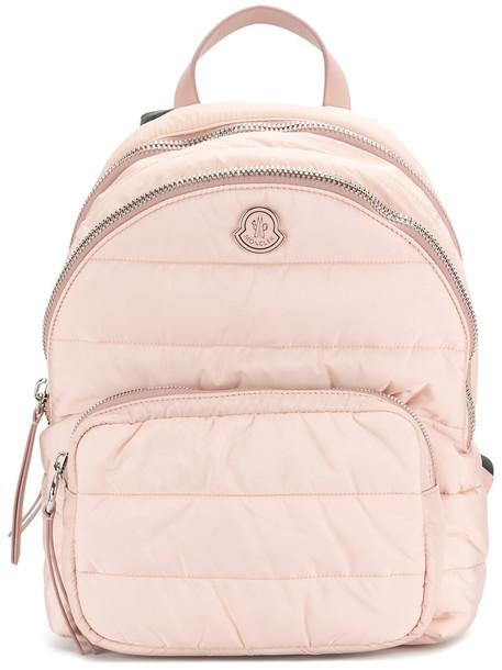 moncler women backpack purple pink bag