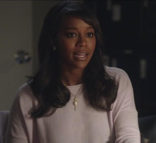 sweater how to get away with murder Michaela Pratt Aja Naomi King