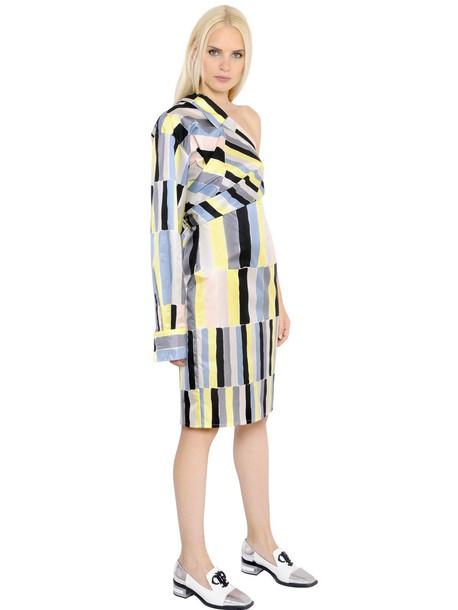 Emilio Pucci dress asymmetrical silk