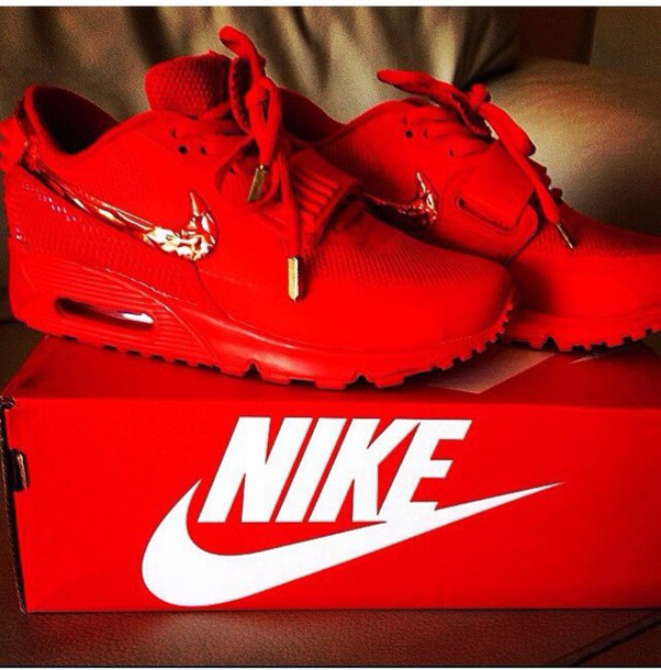 c85739b85905 shoes red nike air max kicks sneakers fashion dope celebrity style trendy  clothes pattern trendy red