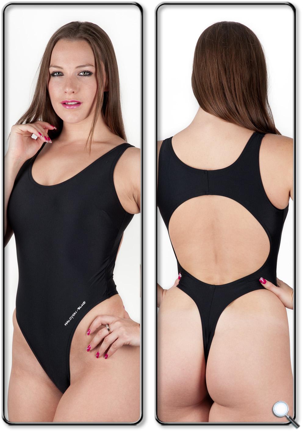 Dani sports thong swimsuit / leotard
