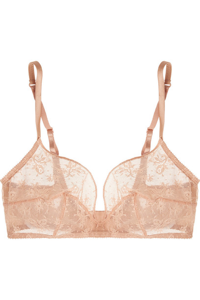 ERES bra soft lace silk satin underwear