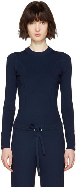 3.1 Phillip Lim pullover navy sweater