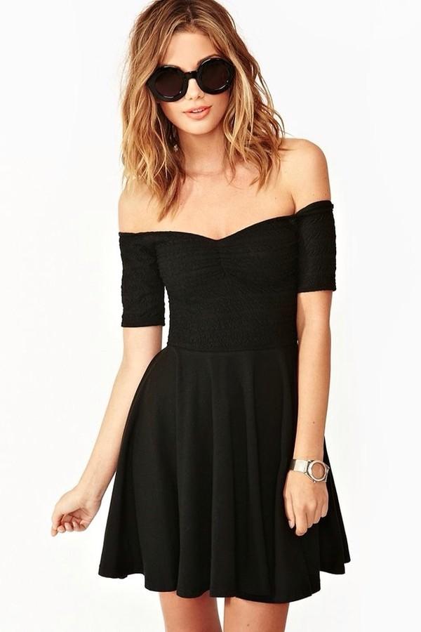 dress little black dress black sweet