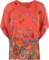 coral,clothes,accessories,shirt,top,blouse,default category,casual tops