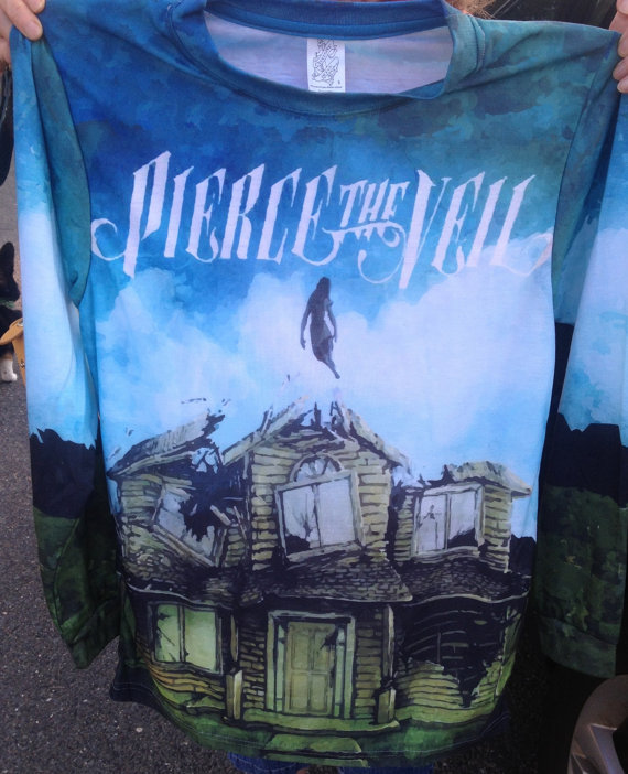 Pierce the veil's collide with the sky unisex by exclusivemerch