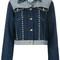 Tommy hilfiger - tommy x gigi studded denim jacket - women - cotton/spandex/elastane - 6, blue, cotton/spandex/elastane