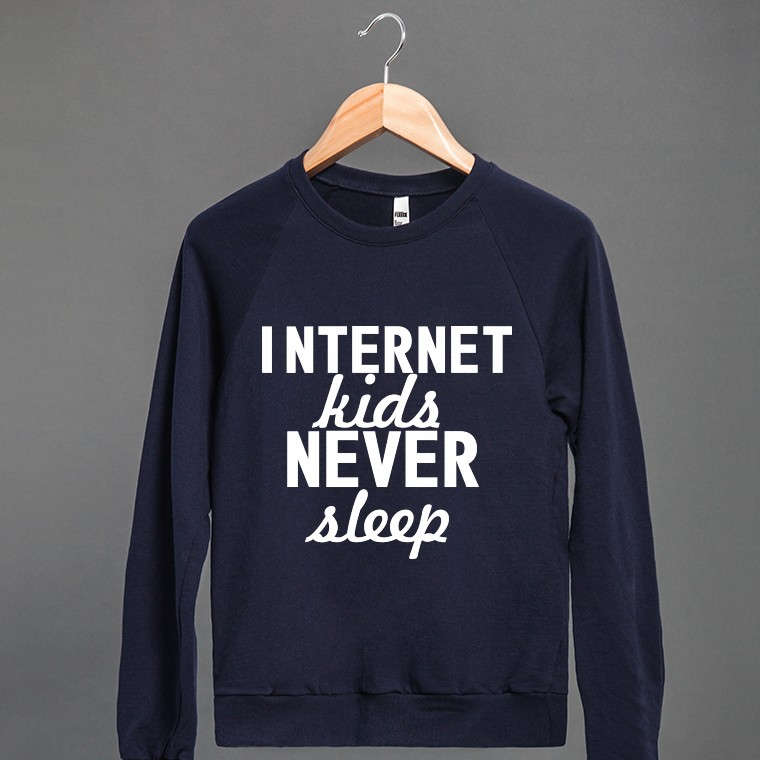 Internet Kids | Crew Neck Sweatshirt | Skreened