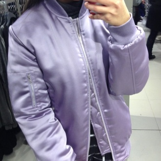 jacket purple bomber jacket