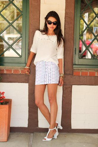 viva luxury skirt bag t-shirt shoes sunglasses jewels
