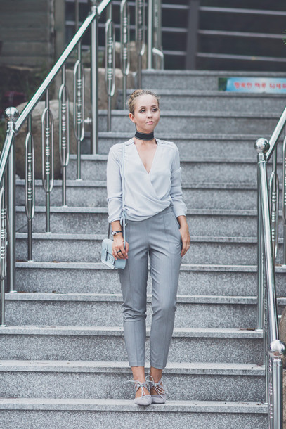 my blonde gal blogger bag jewels shoulder bag chok lace up lace up flats mini bag