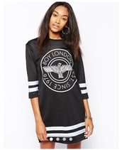 dress,hockey,mesh,jersey,black and white,london,shirt,oversized shirt,dope,urban,sweater