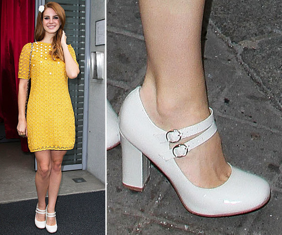 lana del rey shoes white white shoes vintage high heels retro singer woman girly girl legs sweet