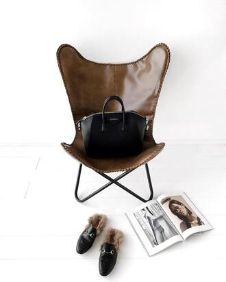 bag tumblr chair home decor home accessory gucci princetown gucci shoes gucci loafers magazine black bag givenchy givenchy bag