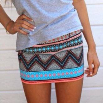 skirt brand store aztec aztec skirt