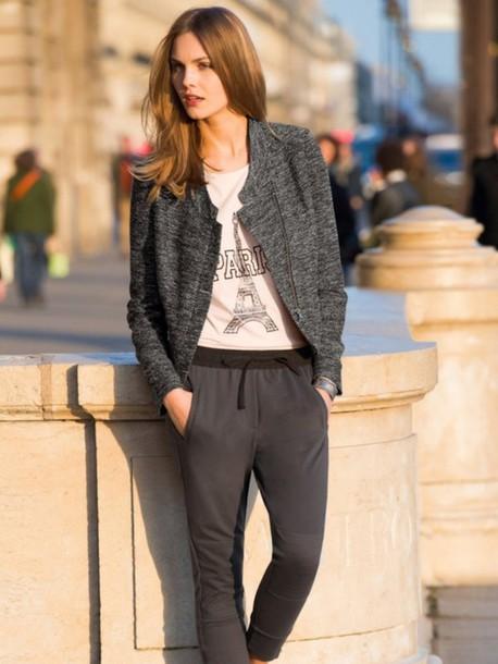 jacket stylish grey jacket