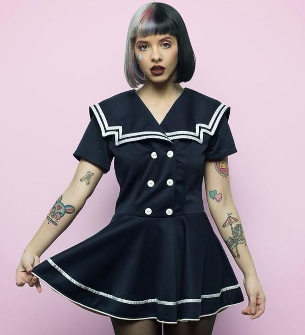 Dress Sailor Dress Melanie Martinez Sailor Black Dress