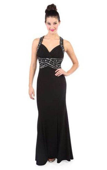 dress prom dress cute sequins little black dress black