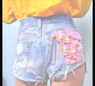 shorts flowers