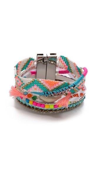 aztec pink jewels braclets