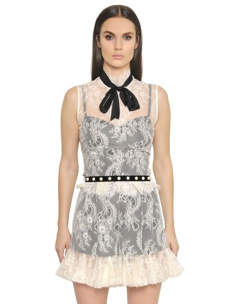 top lace top bow lace