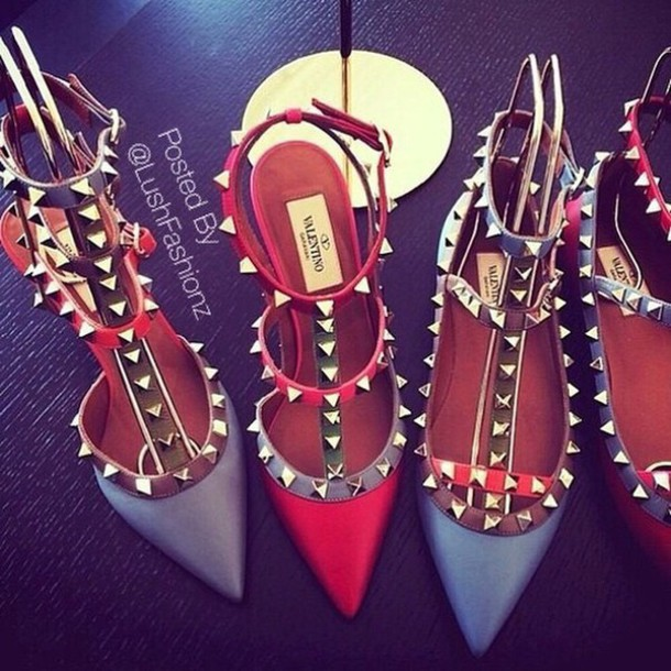 shoes heels studded shoes style pumps pointed toe high heels