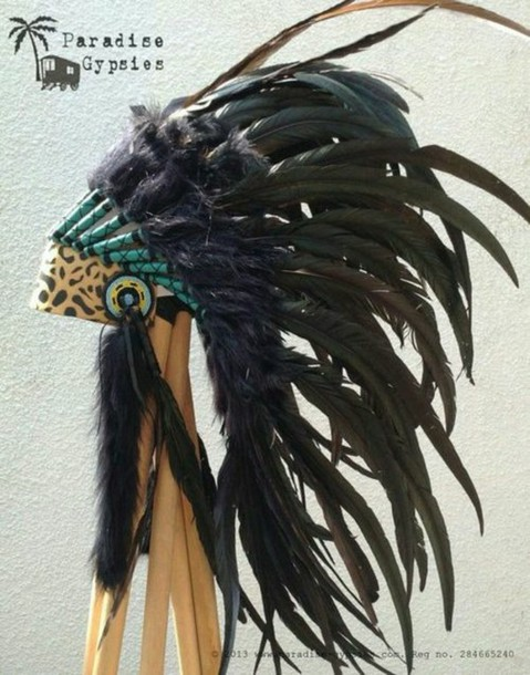 hat indie indian hat