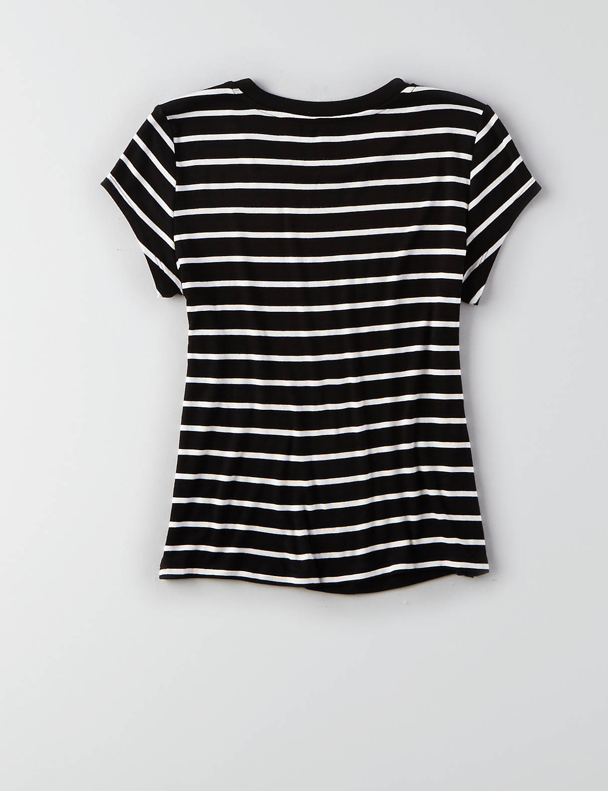 Soft & Sexy Tomgirl T-Shirt , True Black | American Eagle Outfitters