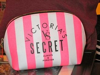 victoria's secret makeup bag bag