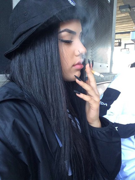 black hat grunge cotton hat black bucket hat black bucket hat