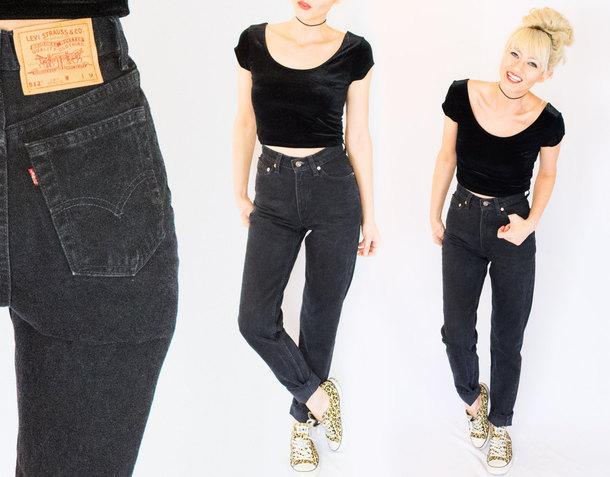 Jeans Vintage Levis Mom Jeans Levis Jeans High Waist Levis Jeans