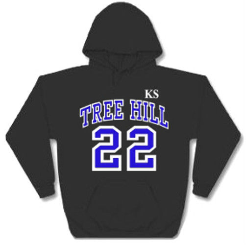One tree hill ravens lucas scott 22 ks hoodie