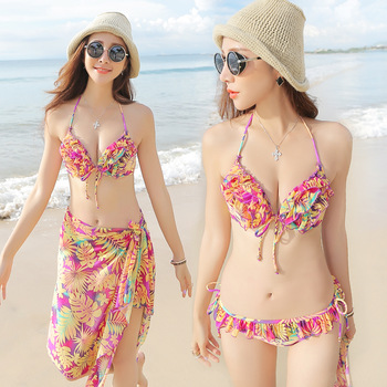 Aliexpress.com : Buy Free shipping Fashion sexy steel lace push up bikini swimwear spa piece set female cutout knitted shirt from Reliable shirt image suppliers on Dora Sweet Shop.