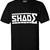 SHADE Short Sleeved T-shirt - Black – SHADE London