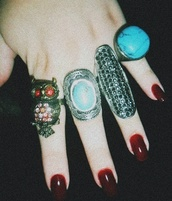 jewels,ring,jewelry,grunge,cool,style,weheartit