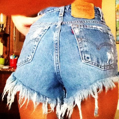 Waisted Shorts- The Classics: Mega Fray