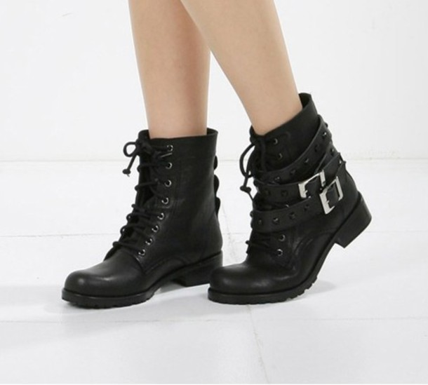 Most popular tags for this image include: combat boots, lace up boots and leather