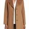 Fleurette notch collar wool walking coat (regular & petite) | nordstrom
