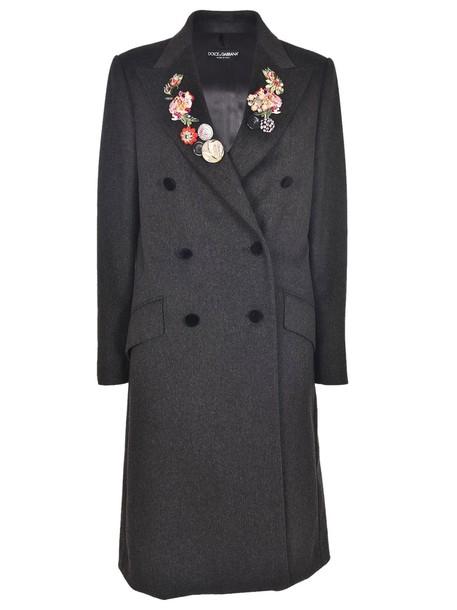 Dolce & Gabbana coat floral