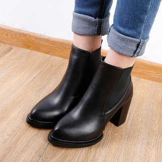 shoes boots black black boots fall outfits denim ankle boots mid heel boots
